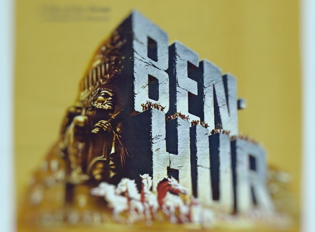 poster film 1959 ben-hur film istoric