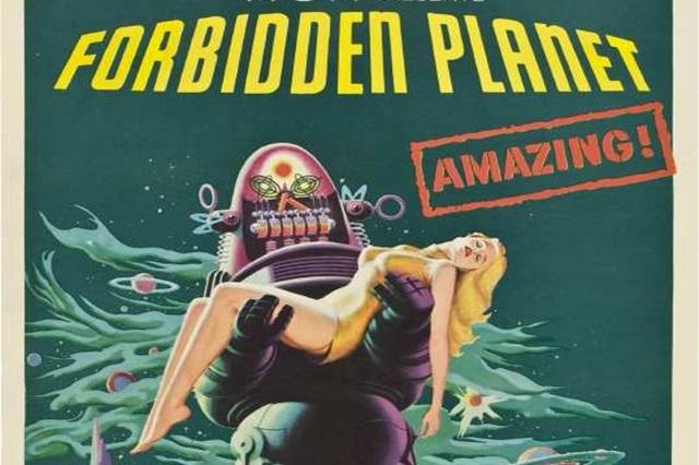 poster film 1965 planeta interzisa cu leslie nielsen