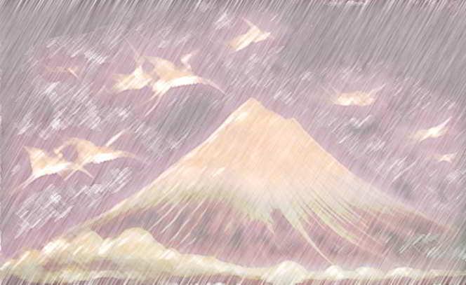 dinozauri - pterodactili in ploaie