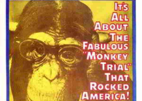 afiș film procesul maimuțelor