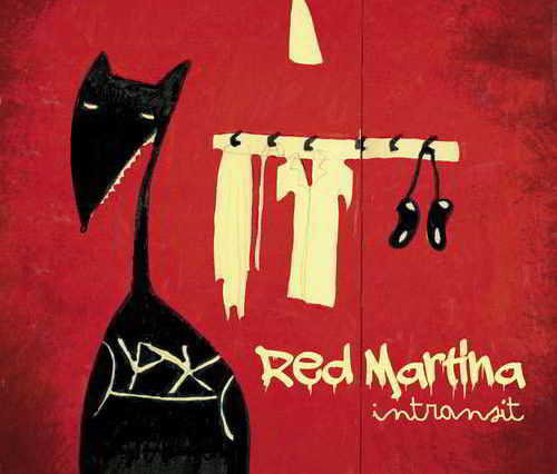 coperta album red martina intransit