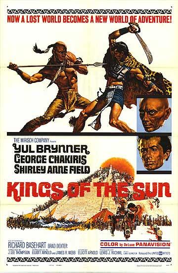 poster film cu mayasi regii soarelui 1963