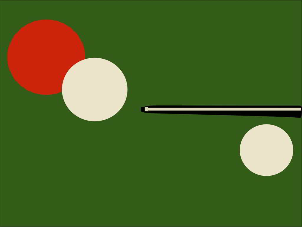 artwork biliard grafica vectoriala