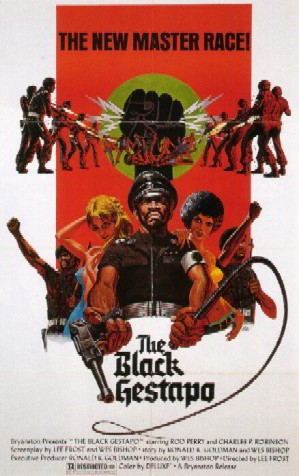 poster film Black gestapo