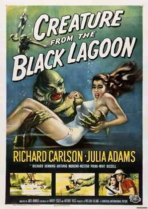 afis film creatura din laguna neagra