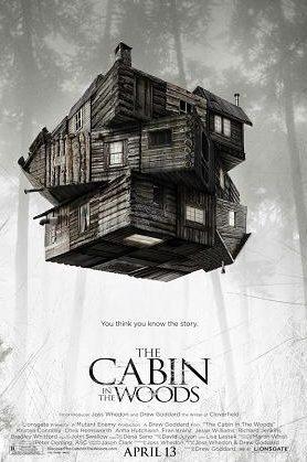 afis film cabana din padure horror 2012