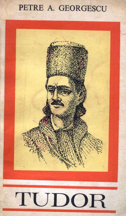 coperta carte tudor vladimirescu de petre georgescu