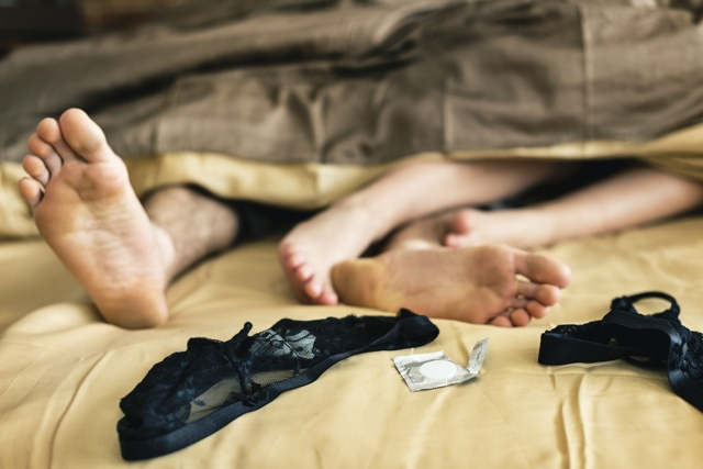 sex scene in bed