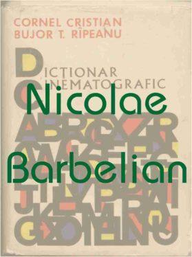 Coperta Dictionar Cinematografic