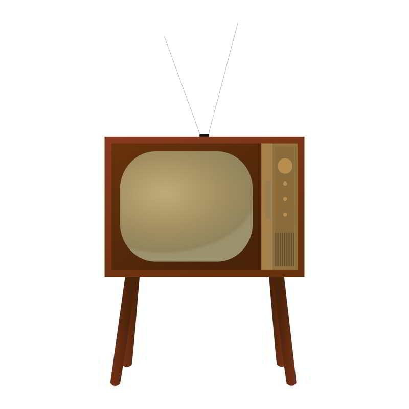 imagine televizor vechi