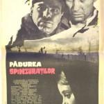 poster Padurea spanzuratilor 1966