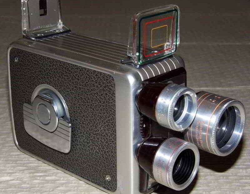 poza camera de filmat retro kodak