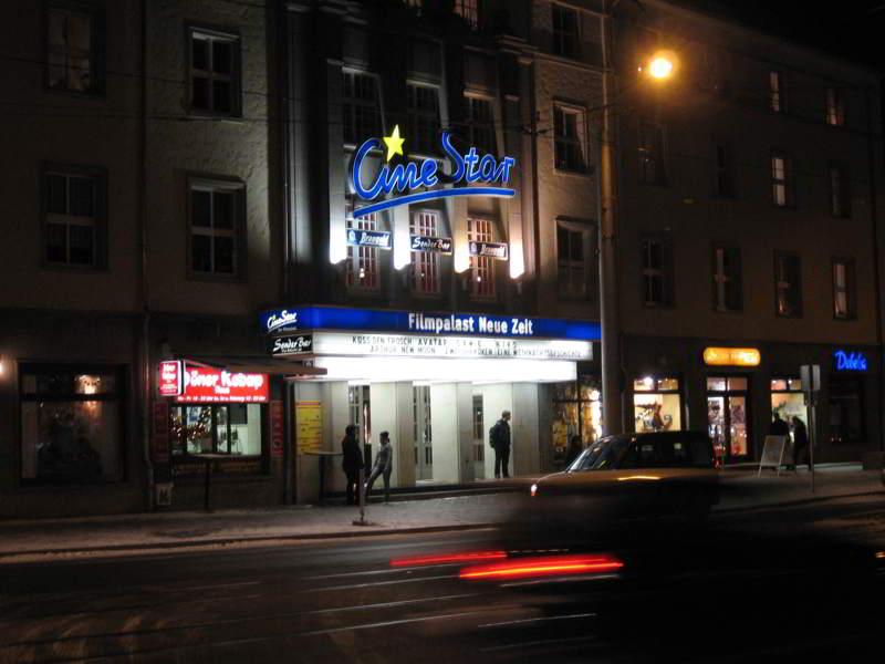 poza din strada cinematograf