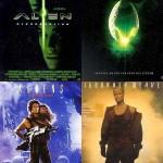 colaj postere film seria Alien