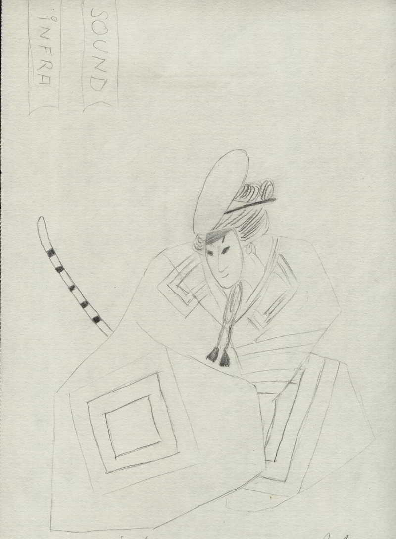 desen in creion Samurai