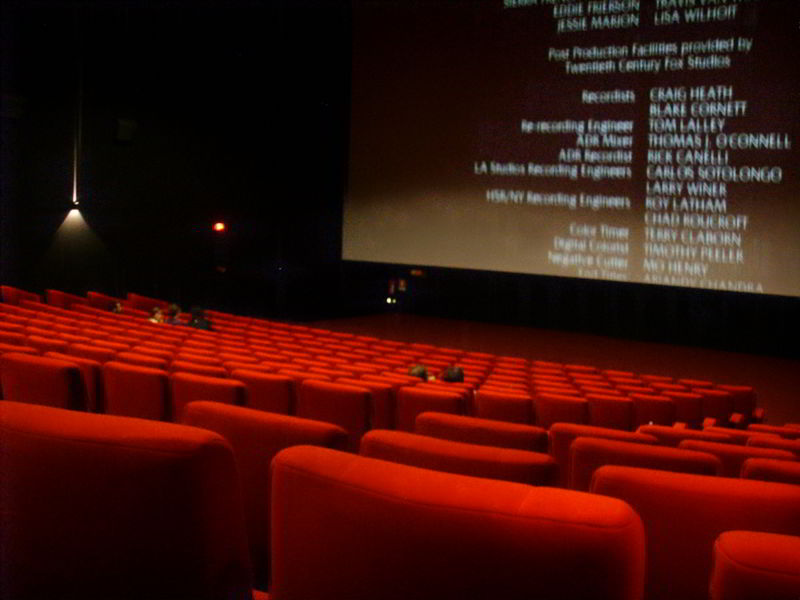 imagine sala de cinema