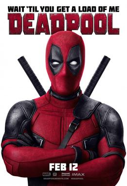 poster film Deadpool 2016