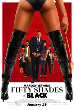 poster film Fifty Shades of Black film 2016