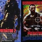 postere filme predator 1987 si 1990