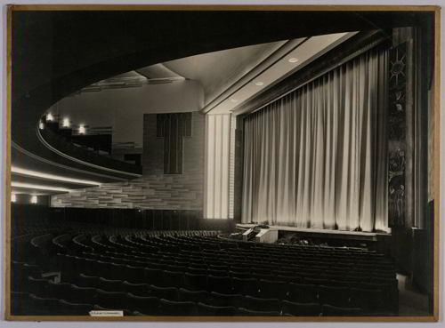 sala de cinematograf vintage