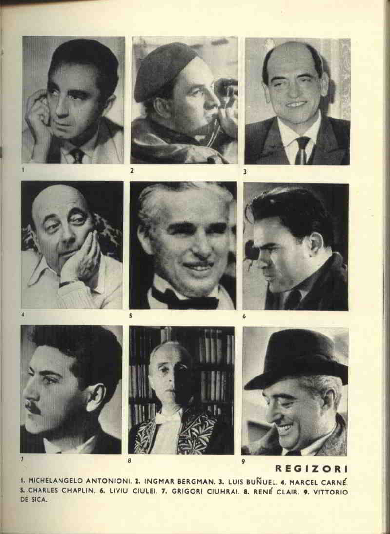 scan din carte poze regizori