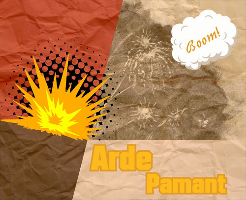 instrumental rap artwork Arde Pamant