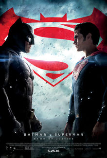 poster film Batman vs Superman Zorii Dreptatii