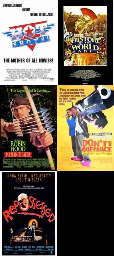 postere unite filme parodie