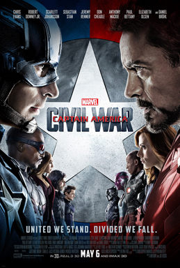 Captain America Civil War film 2016