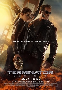 Terminator Genisys poster film