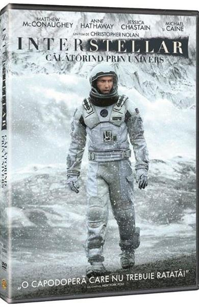 coperta dvd interstellar libris