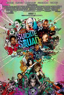 Suicide Squads film poster 2016