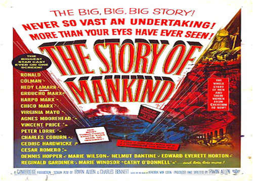 The_Story_of_Mankind istoria lumii poster film