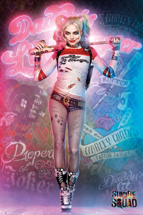 harley quinn poster suicide squad