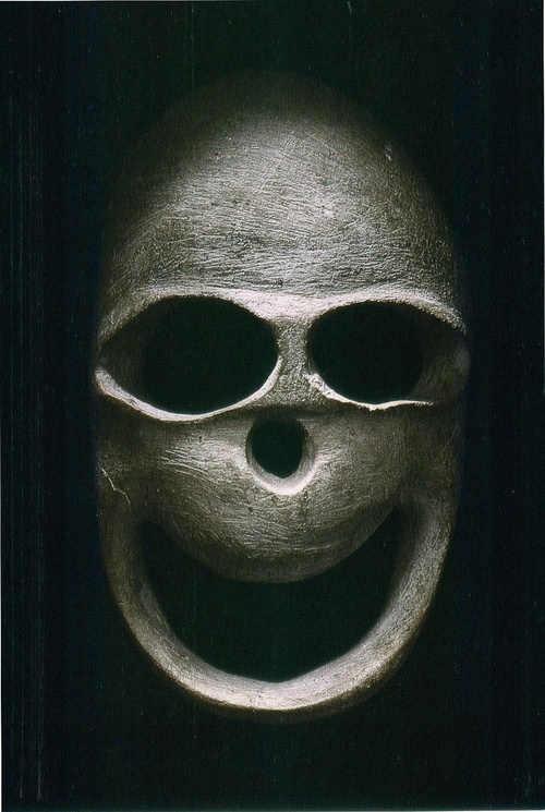 masca funerara preistorie
