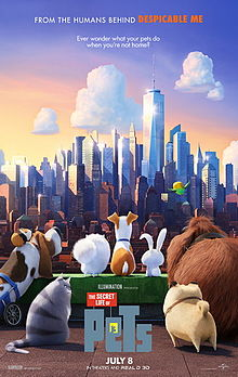 singuri acasa poster film The Secret Life of Pets