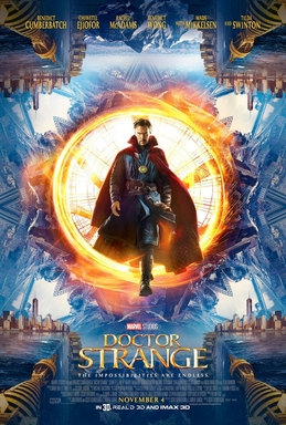 doctor strange poster film 2016
