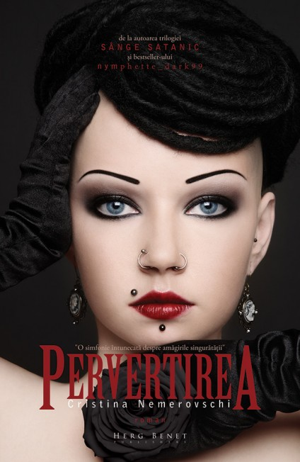 coperta carte Pervertirea Cristina Nemerovschi