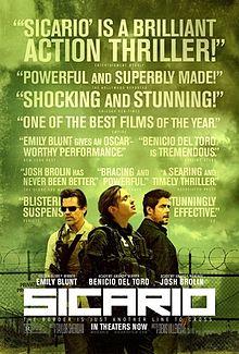 filme cu asasini poster sicario film 2015