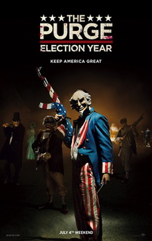 film de vanatoare de oameni poster the purge: election year
