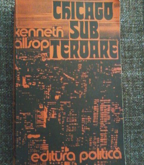 Chicago sub teroare este cartea de azi ce nu trebuie ratata. Totul despre Al Capone