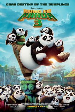 poster kunk fu panda 3