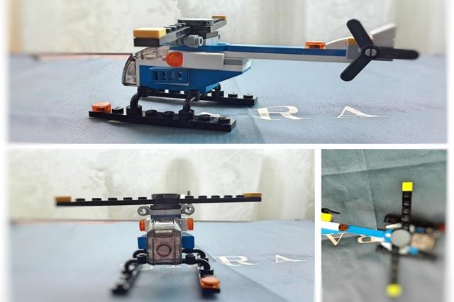 elicopter din lego
