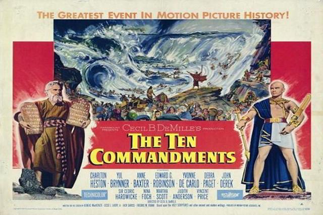 poster cele zece porunci film 1956