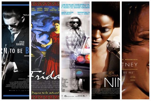 colaj postere filme biografice