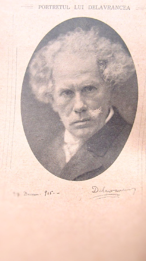 portret barbu ștefănescu delavrancea pe cartea Schițe și nuvelele lui DelaVrancea de grigore popescu-băjenaru_Fotor