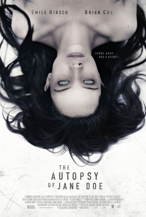 afis film 2016 Autopsia lui Jane Doe