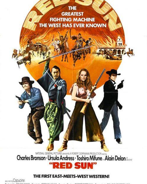 afis soare rosu film 1971