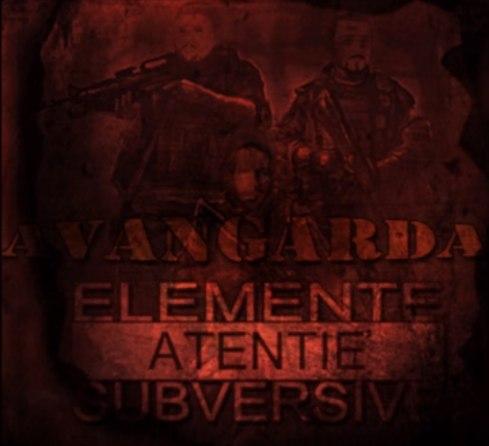 coperta album avangarda elemente subversive