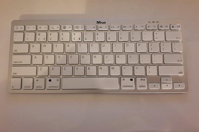 tastatura bluetooth trust nado